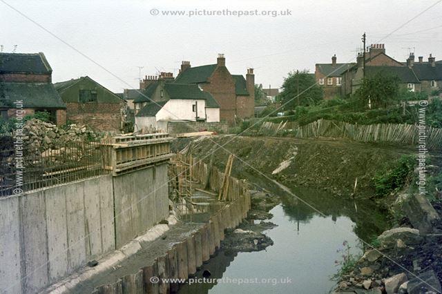 Ecclesbourne Flood Scheme, Duffield, 1974-76