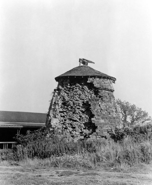 Remains of the Dovecote, Codnor Castle, Codnor, c 1950s