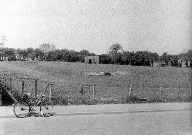 Area between Lowes Hill and Butterley Hill pre Bypass, Ripley, 1980