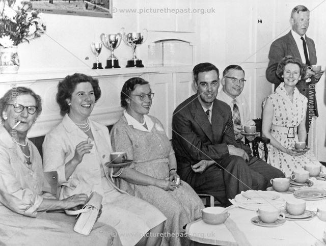 Staff at Ripley County Senior School, c 1950