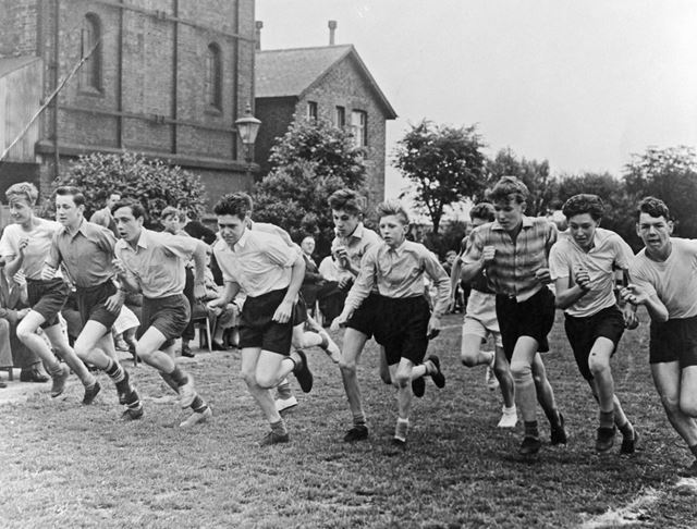 Ripley County Senior Boys School Sports Day, 1953