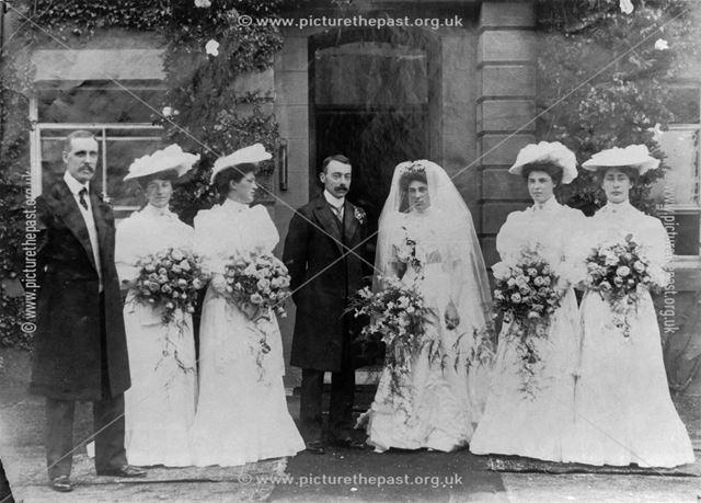Society Wedding, Ripley, c 1900s
