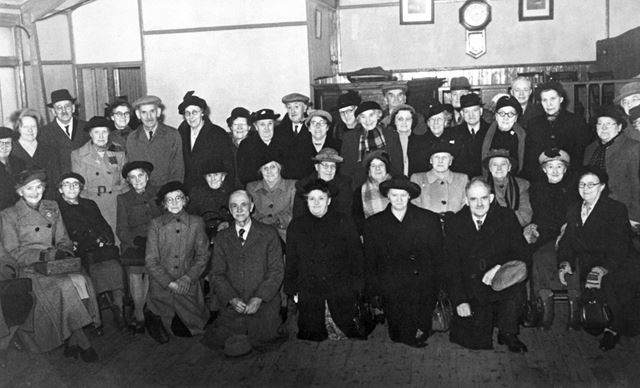 OAP Club, Ripley Spiritualist Church, Argyll Road, Ripley, 1950s