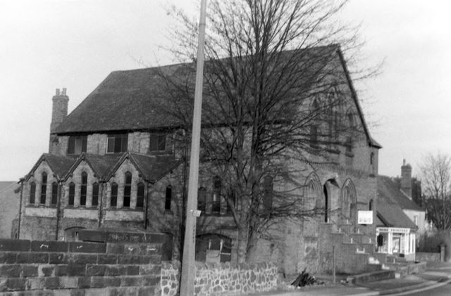 Methodist Church, corner of Argyll Road and Nottingham Road, Ripley, early 1980s