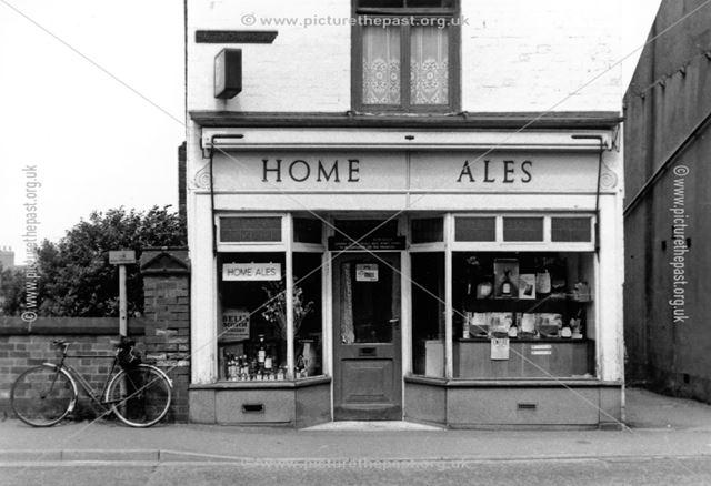 'Home Ales', Nottingham Road, Ripley, 1960s?