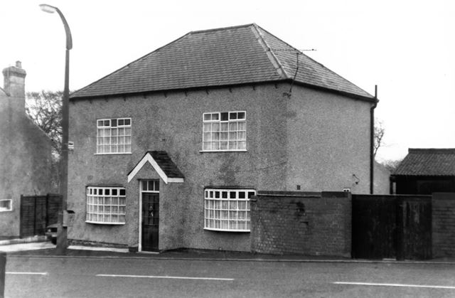 House at Butterley Hill, Butterley, near Ripley, c 1970s