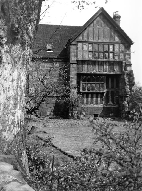 The Old Hall, Moor Road, Breadsall, 1960s?