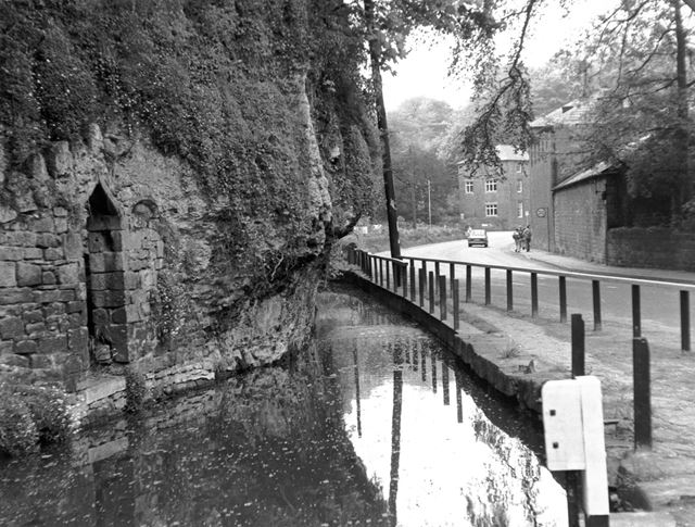 Water Channel off Cromford Canal, Cromford Wharf, Cromford, c 1960s?