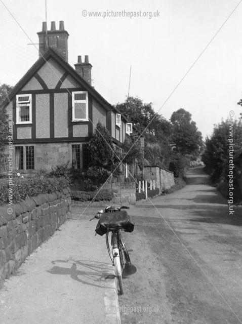 Houses, Horsley Lane, Coxbench, c 1950s