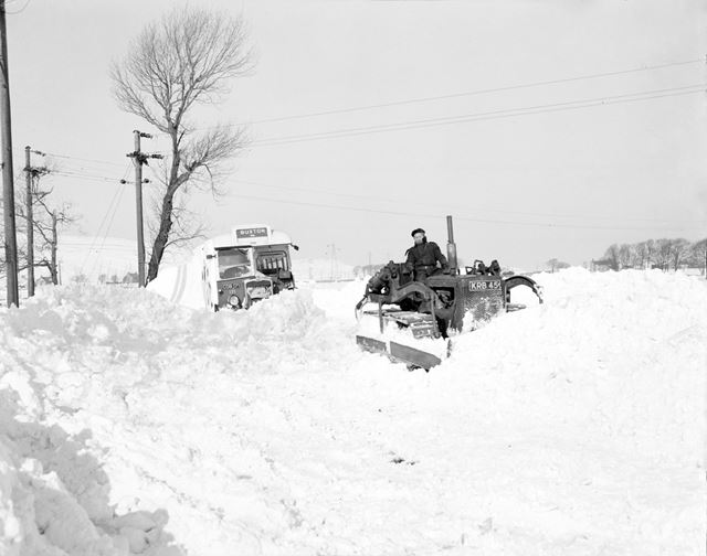 Snow Clearing, Fairfield Common