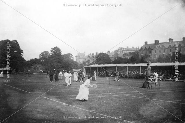Tennis Tournament, Pavilion Gardens, Buxton