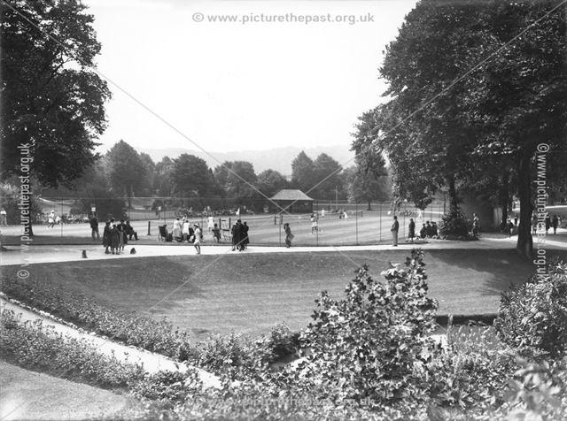 Tennis Match, Pavilion Gardens, Buxton