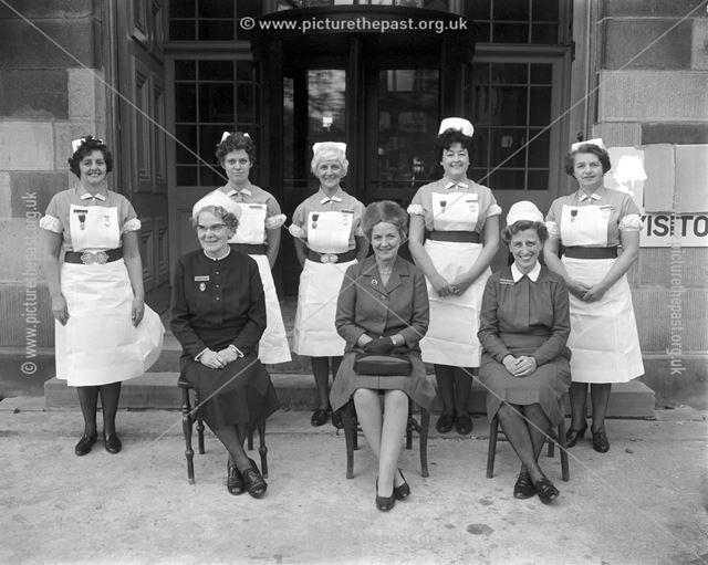 Presentation of awards to nurses - The Devonshire Royal Hospital