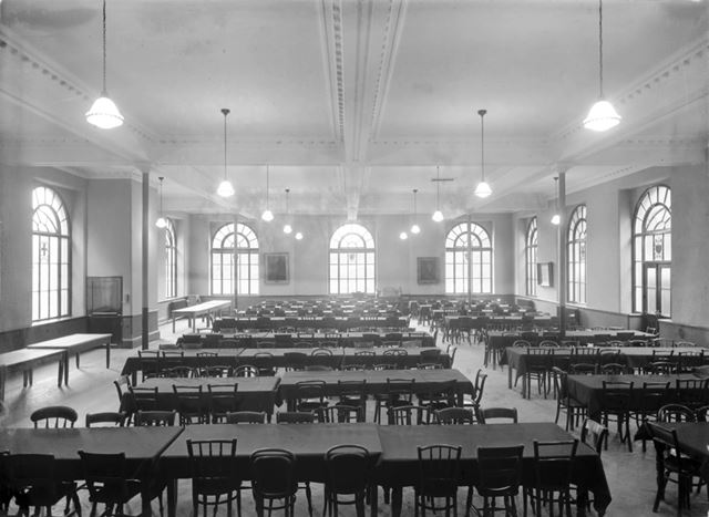 Large Dining Hall - The Devonshire Royal Hospital