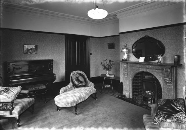 Lounge interior at the nurses home - The Devonshire Royal Hospital