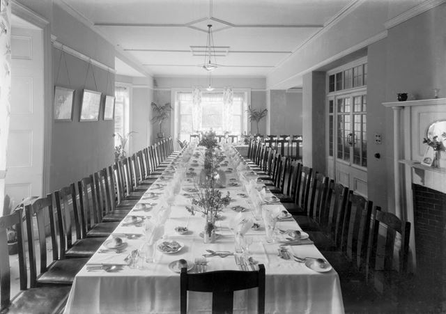 Large dining hall, Devonshire Royal Hospital