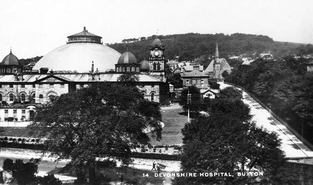 Devonshire Hospital, Buxton, c 1929