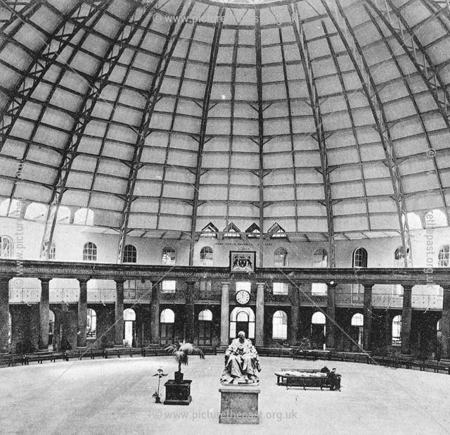 Interior of Devonshire Hospital, Buxton, c 1903