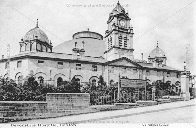 Devonshire Hospital, Buxton, c 1905 ?