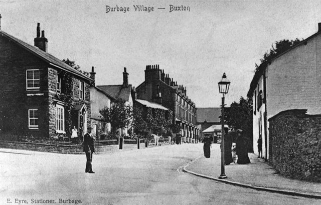 Macclesfield Road, Burbage, c 1906