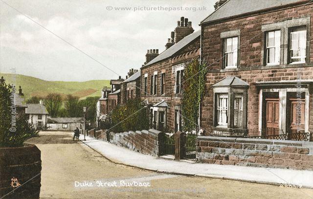 Duke Street, Burbage, c 1905 ?