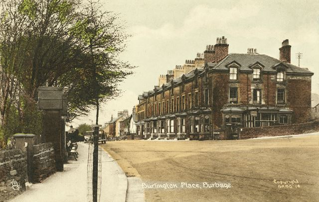 Burlington Place, Burbage, c 1930s ?