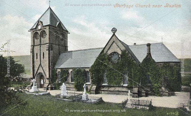 Christ Church, Burbage, c 1905 ?