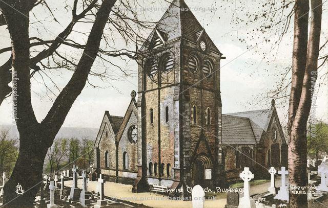 Christ Church, Burbage, c 1930s ?