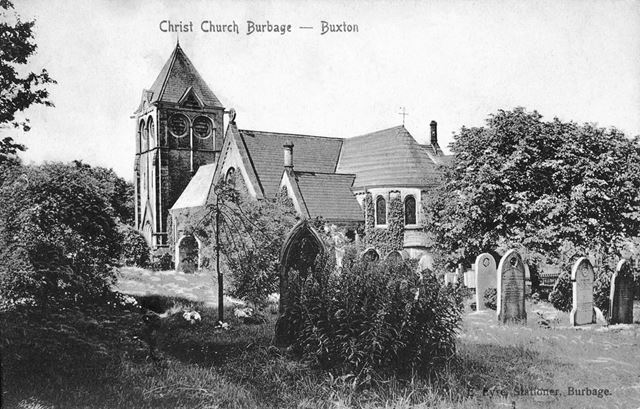 Christ Church, Burbage,  undated