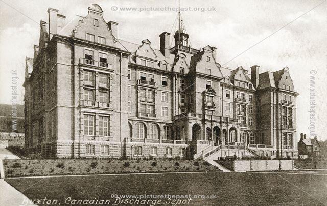 The Empire Hotel, Buxton, c 1914-18