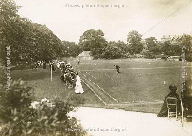Croquet Match, Pavilion Gardens, Buxton