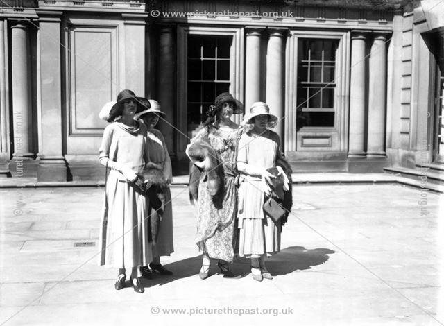 Guests at the wedding of Lady Rachel Cavendish to Hon John Stuart, 1923