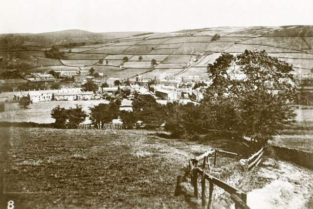 View of Hayfield, 1920s