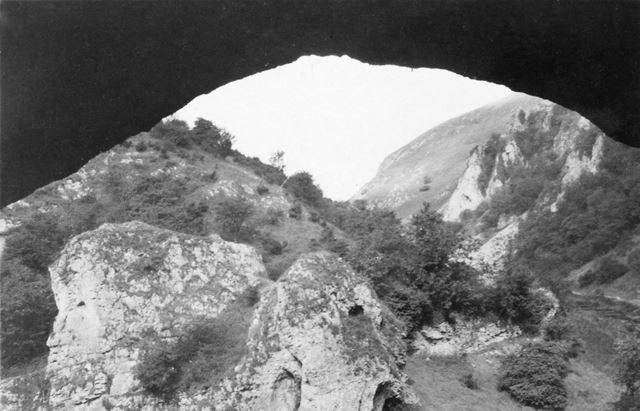 Dove Holes Cavern, Dove Dale, 1947