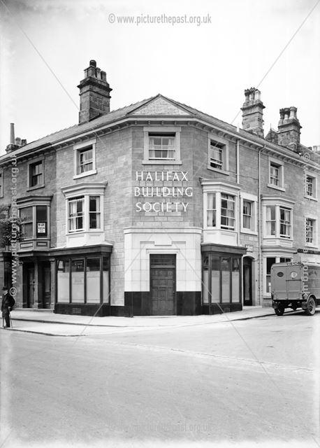 Halifax Building Society, corner of High Street and Chapel Street, Higher Buxton, 1932