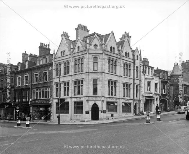Westminster Bank, Spring Gardens, Buxton, c 1960