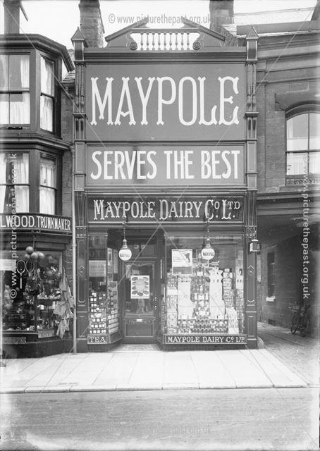 Maypole Store, Spring Gardens, Buxton, 1928