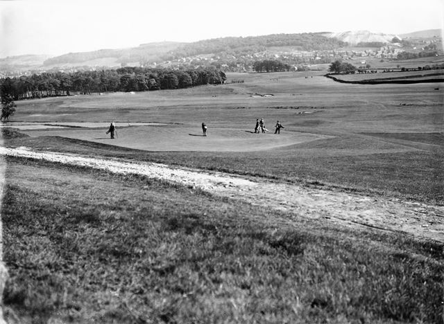 Long view of course looking south east, Cavendish Golf Club, Gadley Lane, Buxton, 1927-1931