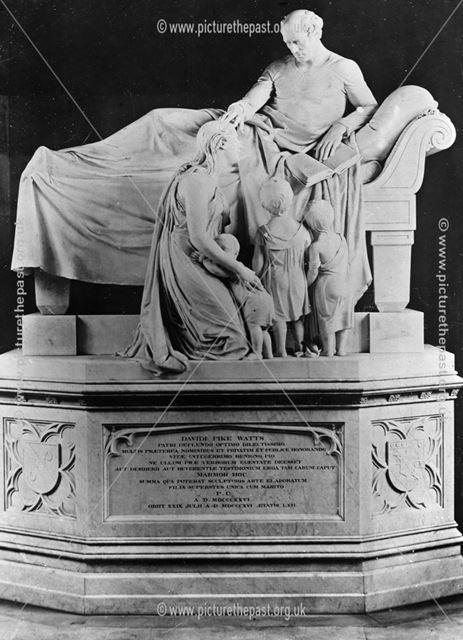 Memorial tomb of David Pike Watts