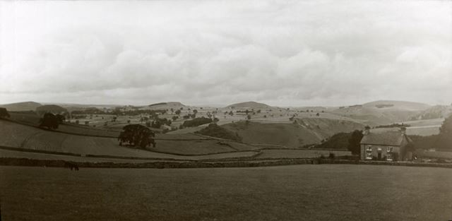 Hills above Dovedale, from the south