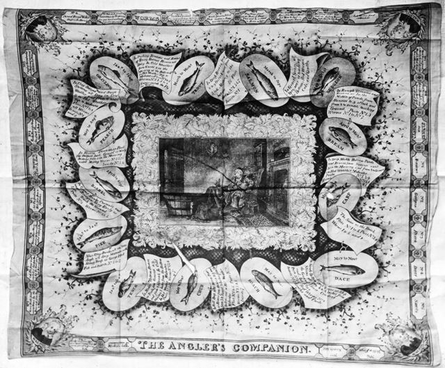 Izaak Walton's handkerchief
