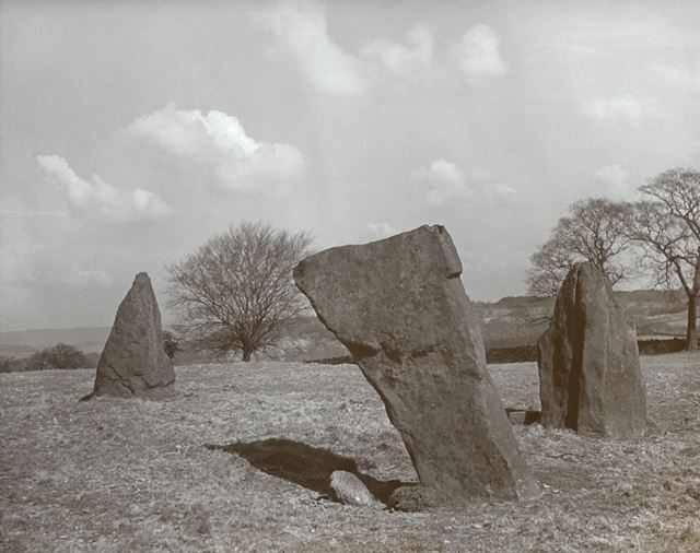 Stone circle - Nine Stones Close, Harthill Moor