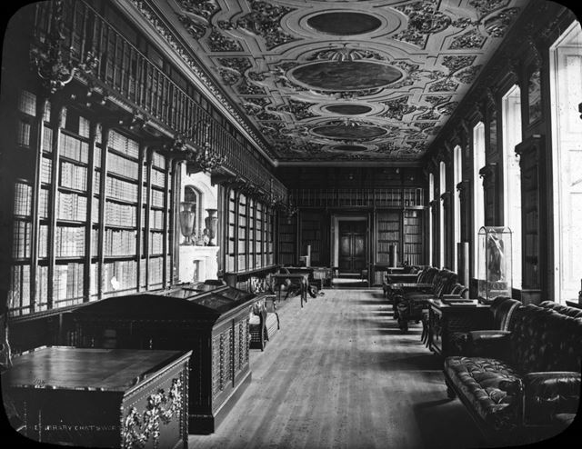 The Library, Chatsworth House