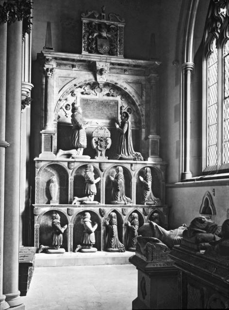 Manners Monument, Bakewell Church