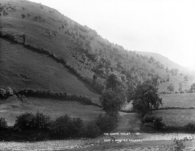Hamps Valley, Staffordshire, c 1930s