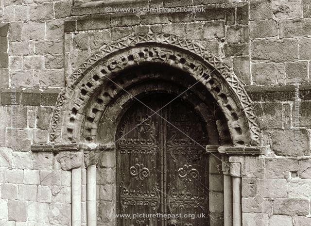 West door, All Saints Church