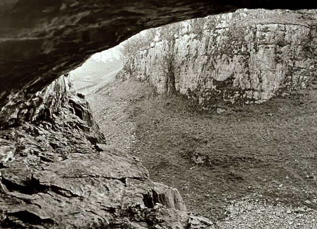 Deep Dale, from cave