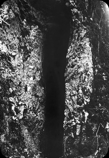 Charles Cotton's Cave, Beresford Dale, c 1930s