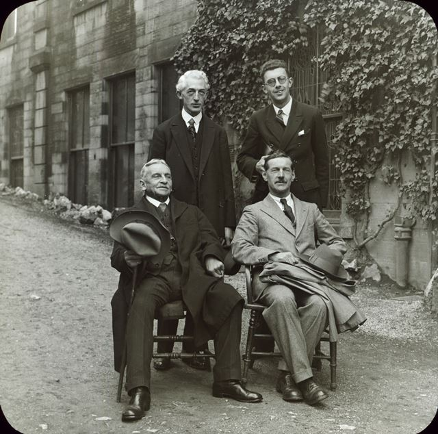 Group at Buxton Museum for the opening of the Sir WILLIAM BOYD DAWKINS room, 30 October 1929