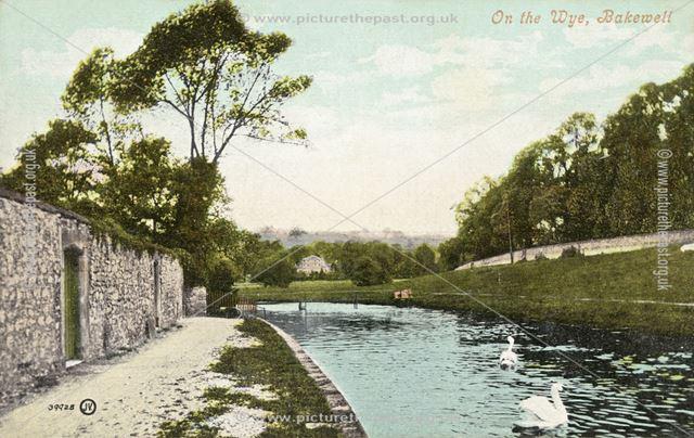 On The Wye, Bakewell,  c 1930s